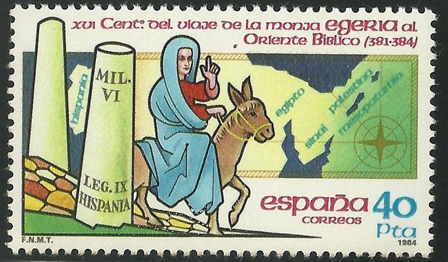 Egeria, la primera peregrina de la historia